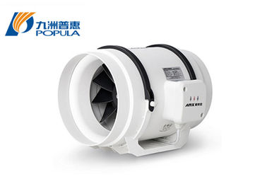 China Mixed Flow  8 Inch Inline Duct Fan Circular Extractor Fan CE ISO 9001 Certificate supplier