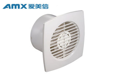 4 Inch Wall Mounted Ventilation Fan , Square Wall Exhaust Fans With Louvers