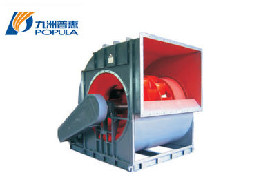 Indoor Industrial Centrifugal Fan Belt Driven , Double - Suction Type