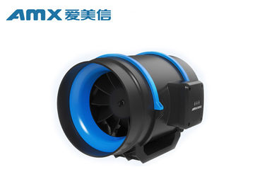Full ABS Plastic Mixed Flow Duct Fan , Commercial Inline Exhaust Fans For Hotel